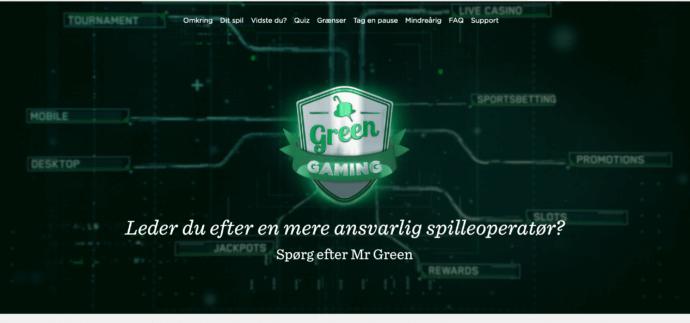 Ansvarligt spil hos Mr Green